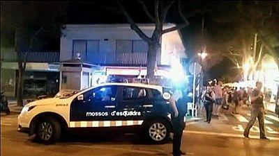 En libertad con cargos las cinco detenidas por un 'flashmob' que desató el pánico en un municipio de Girona