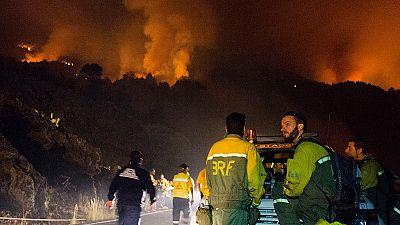 Muere un operario en la extinción de un incendio en la isla de La Palma