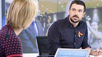 Los desayunos de TVE - Ram�n Espinar, portavoz de Unidos Podemos en el Senado - ver ahora