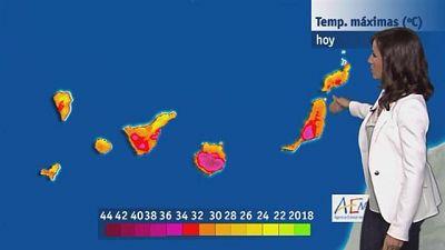 El tiempo en Canarias - 04/08/2016