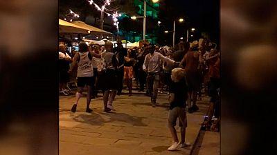 El 'flashmob' que desató el pánico en un municipio de Girona produce unas pérdidas de al menos 50.000 euros