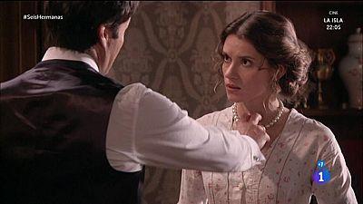 Seis Hermanas - Rodolfo le arranca a Blanca el collar de su madre