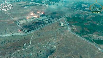 Los combates se han trasladado al sur de la ciudad de Alepo en Siria