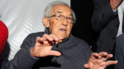 El filósofo Gustavo Bueno ha fallecido hoy a las 91 años en la localidad Asturiana de Niembro.