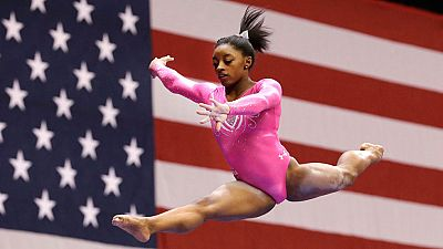 La espectacular gimnasta, Simone Biles, en Río 2016