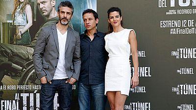 Leonardo Sbaraglia y Clara Lago son los protagonistas de 'Al final del túnel' un angustioso thriller que llega a las salas