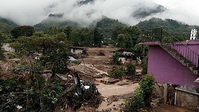 La tormenta tropical Earl deja por ahora 40 muertos en México