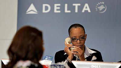Un problema informático retrasa o cancela cientos de vuelos de la aerolínea Delta