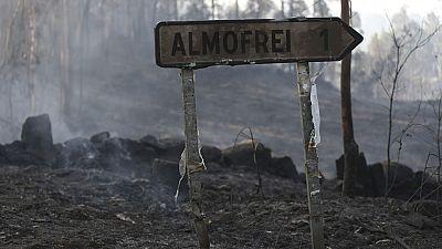 Varios incendios azotan el sur de Galicia y queman más de 350 hectáreas en la provincia de Pontevedra