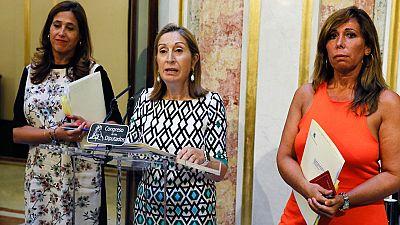 PSOE y Podemos piden a Ana Pastor que fije ya la fecha del debate de investidura