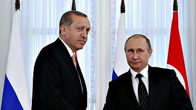 Reunión de Putin y Erdogan para reconstruir las relaciones bilaterales entre Rusia y Turquía