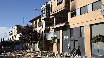 Un hombre fallece en la explosión de su piso en Tudela, en Navarra