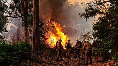 El incendio de Madeira sigue activo pero ya está bajo control