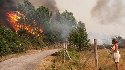 Un vídeo grabado por un vecino demostraría que el incendio de Arbo, en Pontevedra, fue provocado