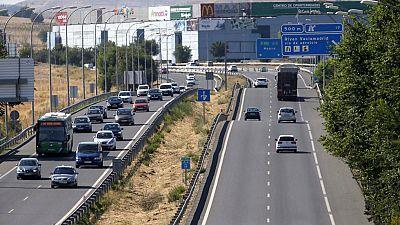 Muchos desplazamientos por carretera durante el puente de agosto