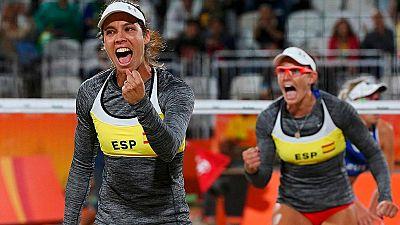 R�o 2016 | Voley Playa: Las espa�olas Baquerizo y Fern�ndez, eliminadas en octavos de final