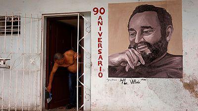 Cuba celebra el  90 cumpleaños del  expresidente Fidel Castro retirado desde hace una década