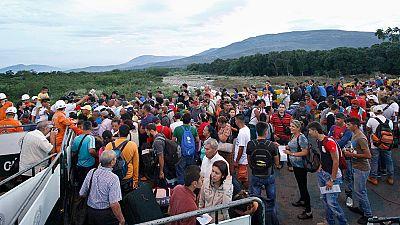 La frontera entre Colombia y Venezuela vuelve a abrir después de un año