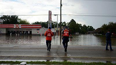 La lluvia torrencial provoca inundaciones de proporciones históricas en el estado de Luisiana