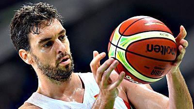 Los jugadores de la selección española de baloncesto se enfrentan a Francia en un momento dulce. Sin embargo Rudy Fernández prefiere rebajar la euforia.