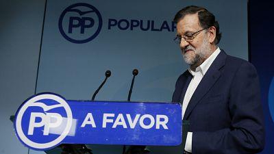 Rajoy negociará con C's y pide una reunión a Sánchez para hablar sobre la investidura