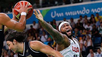 Río 2016. Baloncesto | Estados Unidos derrota a Argentina en las semifinales