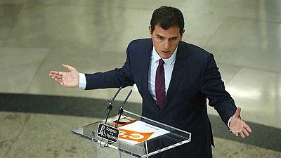 Rivera ha anticipado que Rajoy se compromete a fijar fecha de investidura hoy y descarta entrar en un posible gobierno