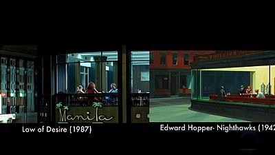 Fotogramas del cine de Almodóvar que se inspiran en obras clásicas del arte