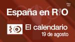 España en Río, 19 de agosto