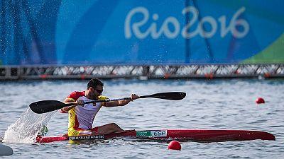 El español Saúl Craviotto, oro en K2 junto a Cristian Toro, se ha metido en la final de K1 200 tras quedar tercero en su semifinal.