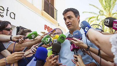 """Sánchez sobre la fecha de investidura: """"Rajoy ha demostrado la poca talla que tiene como político"""""""