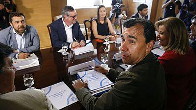 PP y Ciudadanos se volverán a reunir el lunes para negociar la investidura tras un breve encuentro este viernes