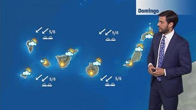 El tiempo en Canarias - 21/08/2016