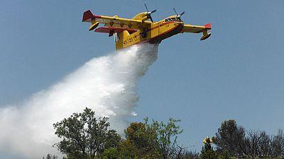 El incendio en el Valle del Jerte sigue sin estar controlado