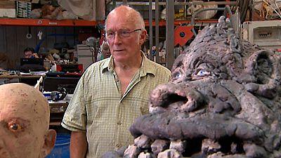 Colin  Arthur creador de efectos especiales nos abre la puertas de su singular universo