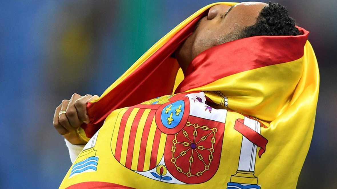 España termina Río 2016 con 17 medallas. Así lo narraron los periodistas de TVE.