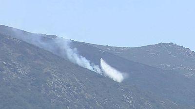 """El incendio en el Valle del Jerte está estabilizado pero """"no se baja la guardia"""""""
