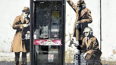 Desaparece en Chentelham, cerca de Londres, uno de los murales más conocidos de Banksy