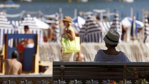 Viento fuerte en Cádiz y Estrecho y temperaturas altas en interior