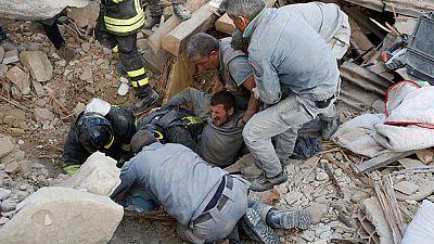 La Ma�ana - Terremoto en Italia, el 70% de Amatrice destruido