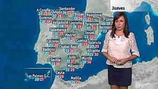 El tiempo en la Comunidad Valenciana - 24/08/16
