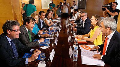 C's exige al PP compromiso presupuestario con sus medidas sociales para el 'sí'' a Rajoy