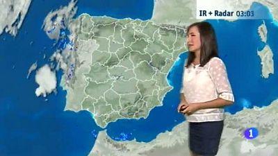 El tiempo en Aragón-24/08/16