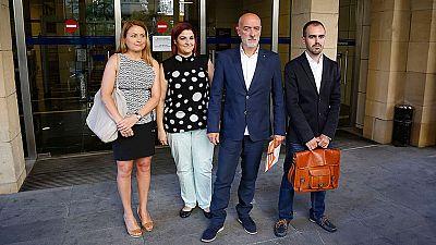 PP y Ciudadanos formalizan sus impugnaciones contra la candidatura de Arnaldo Otegi en las elecciones vascas