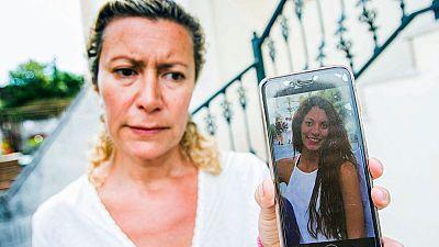 La joven madrileña desaparecida en Galicia envió un mensaje a un amigo porque un hombre la seguía