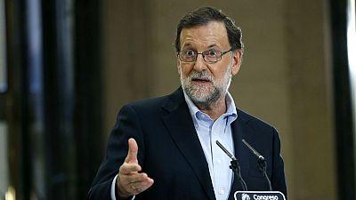El pleno de investidura de Mariano Rajoy comenzará a las cuatro de la tarde del próximo martes, 30 de agosto