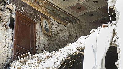 Accumoli, epicentro del terremoto, ha quedado casi completamente destruido
