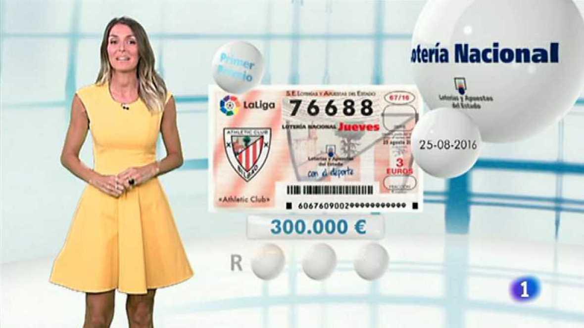 Lotería Nacional + La Primitiva + Bonoloto - 25/08/16 - ver ahora