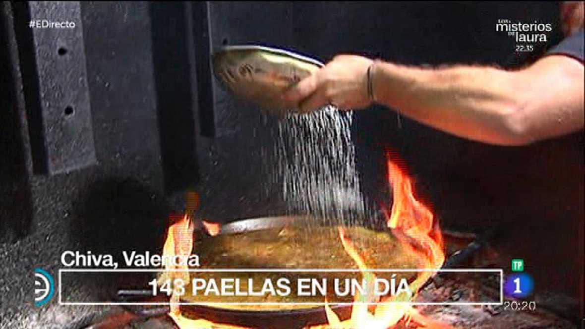 ¡Así se hace la auténtica paella valenciana!