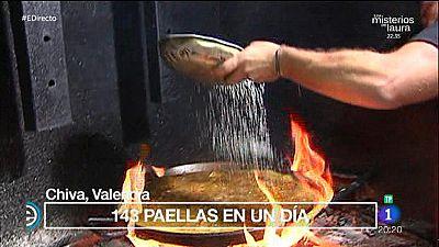 �As� se hace la aut�ntica paella valenciana!